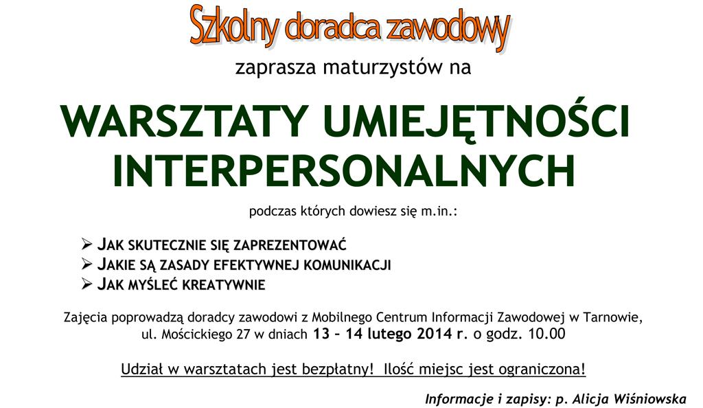 Centrum Edukacji i Pracy OHP w Tarnowie
